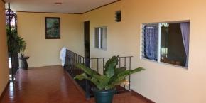 Vista externa habitaciones